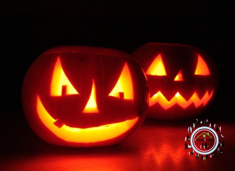 Мастер-класс Светильник на Хэллоуин