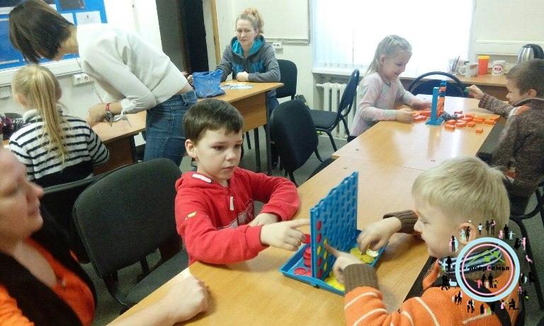 Игротека в ГиперСемья МОП Патриот